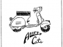 Allez Cats Scooter Club ephemera